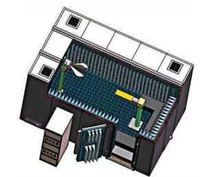 5G 毫米波测试暗室